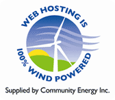 windpowered hosting